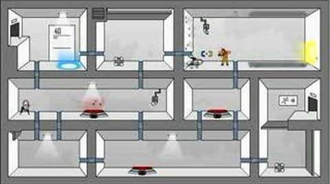 Portal- The Flash Version Walkthrough Levels 39 - Ending