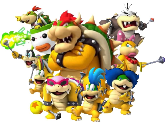 Image result for bowser and the koopalings