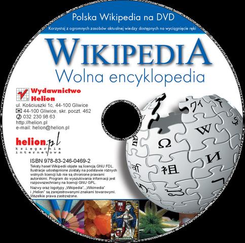 파일:Polska Wikipedia na DVD z Helionem (krążek bez tła).png