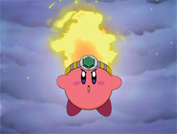 Kirby Right Back At Ya Fire Kirby HIS SKILLS ARE ON FIRE