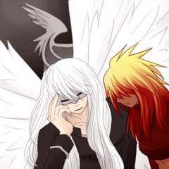 Garuda and his wife <a href=