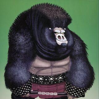 Concept artwork of a gorilla by Nicolas Marlet and Bill Kaufmann