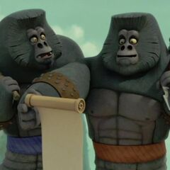 The gorilla warlords excited over <a href=