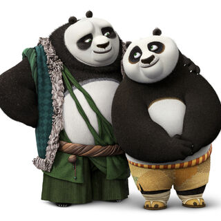 <i>Kung Fu Panda 3</i> promo featuring Li and <a href=