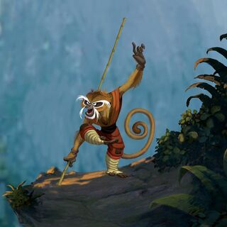 Early concept art of Monkey by Tony Siruno and Bill Kaufman