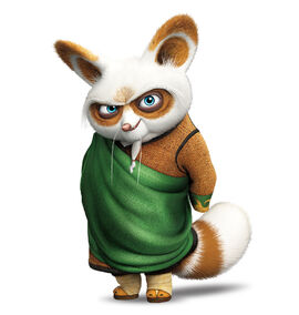 Po and Master Shifu images Shifu wallpaper and background photos ...
