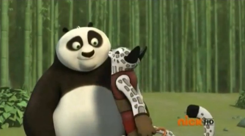 Kung fu panda crane and viper kiss - photo#19
