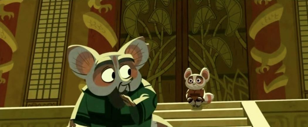Kung fu panda baby shifu