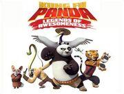 Kung Fu Panda Series Title Card