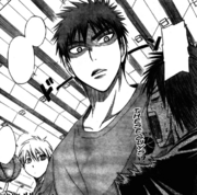 Kuroko and Kagami fights with meijo again