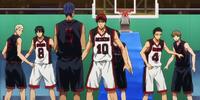 Tōō Academy vs Seirin High