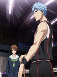 Kuroko enters the game again