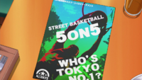 Street basketball 5on5