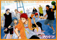 Jump Live Kuroko no Basuke poll poster