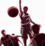 Akashi dunks