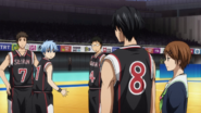 Kuroko is subbed out anime