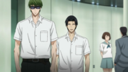Midorima and Takao after watching Kaijo vs Too
