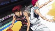 Kagami passes Akashi anime