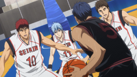 Triple team vs Aomine