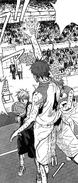 Akashi moves to stop Kuroko