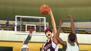Kagami blocks Dad anime