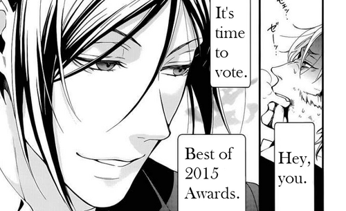 Best of 2015 Awards voting slider