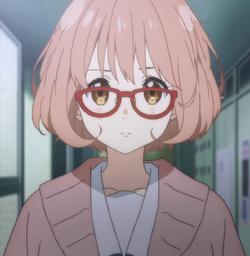 Personality ... MBTI Enneagram Mirai Kuriyama (Kyoukai no Kanata) ... loading picture