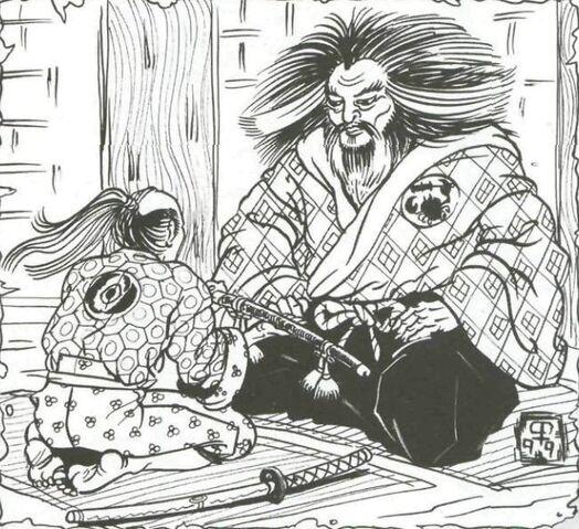 File:Hiruma presenting Chikara to Hida.jpg