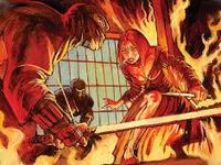 Sunetra facing Assassins