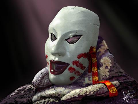 File:Porcelain Mask of Fu Leng.jpg
