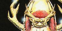 Armor of the Golden Samurai