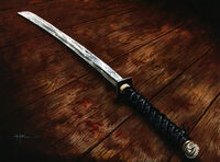 Katana of the Twilight Mountains