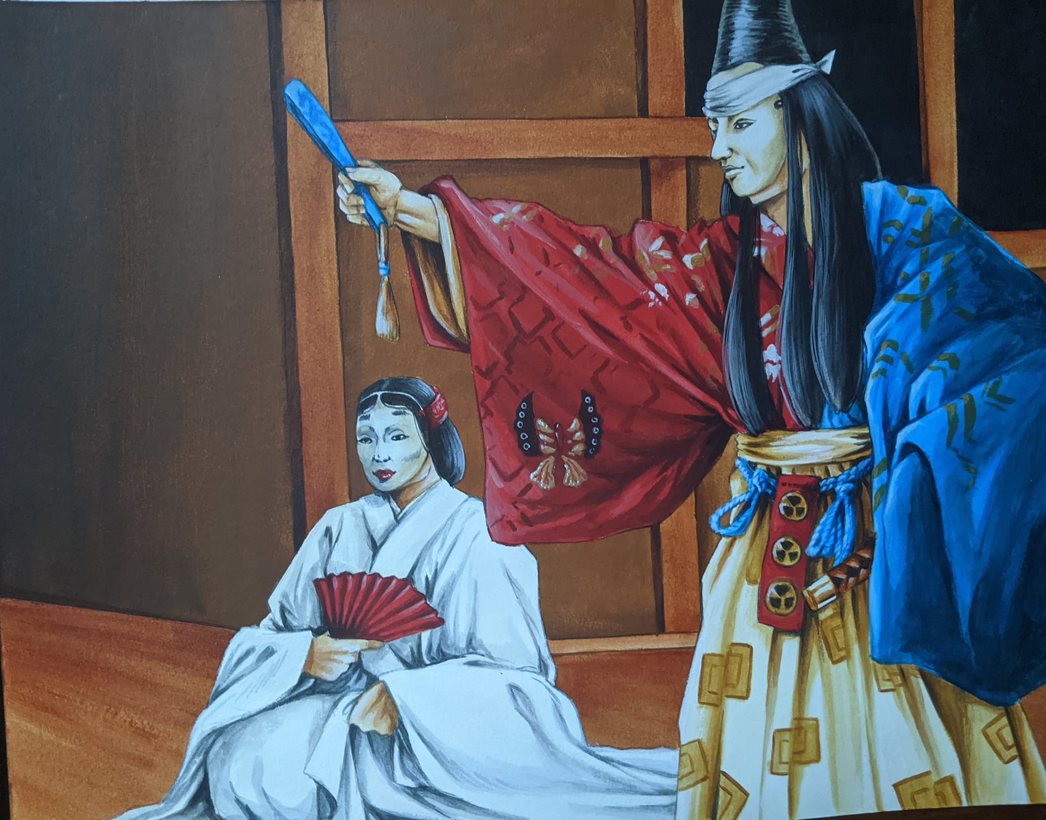 File:Noh Theater Troupe.jpg