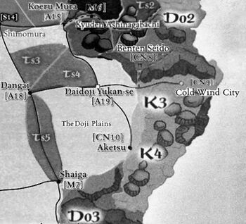 Southern Kakita provinces
