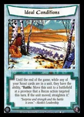 Ideal Conditions-card