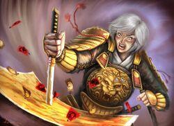 Dairuko swears revenge against the Scorpion