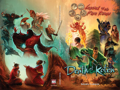 Death at Koten cover