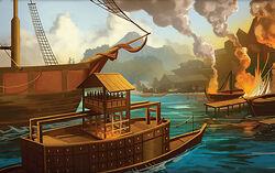 Harbor of Kalani's Landing