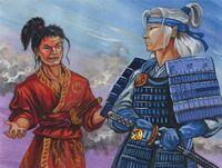 Hochiu challenges Kurohito