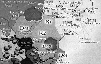 Northern Kakita provinces