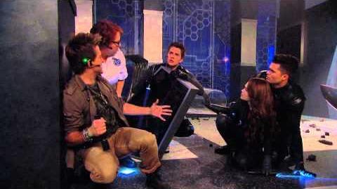 "Lab Rats Bionic Island - ""Under Siege"" Clip - Leo Sleepwalking"