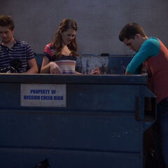 The teens in the dumpster