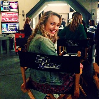 File:Ashlee Fuss on set of Lab Rats.jpeg