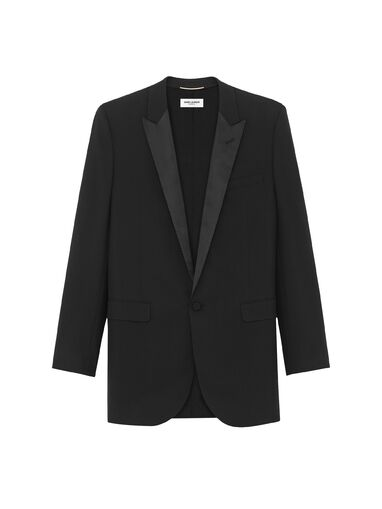 File:Saint Laurent - Iconic le smoking single breasted jacket.jpg