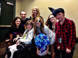 5-20-14 Backstage at Xcel Energy Center in Minnesota 002