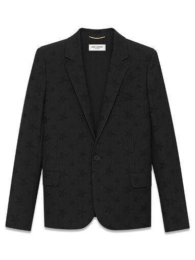 File:Saint Laurent - Breasted jacket in stars virgin wool jacquard.jpg