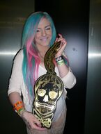 The Born This Way Ball Tour Monster pit key holder 6-23-12