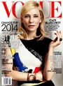Vogue US January 2014 cover