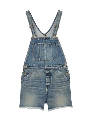 File:Saint Laurent - Short overalls in 90's medium washed blue denim.jpg