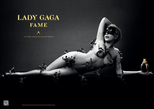 Fichier:Lady Gaga Fame Promo Poster 002.jpg